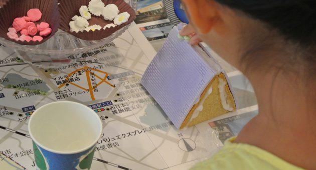 お子さま大喜び♪ パティシエ気分で「お菓子の家作り」